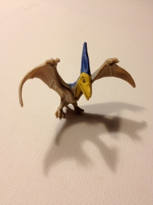 Juvenile Pteranodon. As you can see, it looks a bit weird.