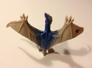 Here you can see the weird bat-like prongs along the wings. Definitely not right.